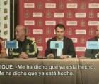 Video: Piqué le confiesa a Vicente Del Bosque la partida de Cesc por 33 millones