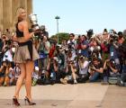 Y en la imagen del día... Maria Sharapova en Paris