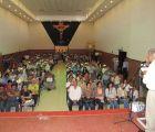 Encabeza López Obrador mitin de Morena en una iglesia