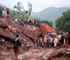 Aumenta a 24 los fallecidos por un alud en la India