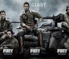 """Brad Pitt, Shia LaBeouf y más en el nuevo cartel de """"Fury"""""""