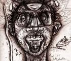 Este artista se autorretrato bajo la influencia de 50 drogas