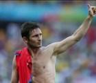 Frank Lampard anunció su retiro de la Selección Inglesa