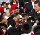 En Estado de México se obligó a iniciar ciclo escolar con agradecimiento a EPN y Eruviel