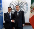 ¡Preparen los cascos azules!, Peña Nieto anuncia participación de México en operaciones de paz