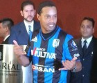 Así fue la presentación de Ronaldinho con el Querétaro