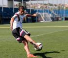 """Así estuvo el primer entrenamiento del """"Chicharito"""" con el Real Madrid"""