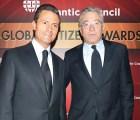 """Y en la imagen del día... EPN y Robert de Niro son """"ciudadanos globales"""""""