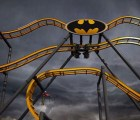 La nueva montaña Rusa de Batman en 4D