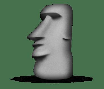 "Resultado de imagen de moai icon whatsapp"""