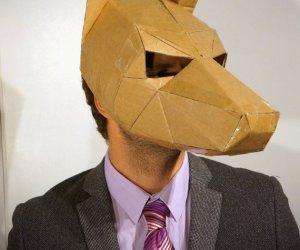 ¿Sin dinero y buscando disfraz? Checa estas máscaras de cartón