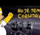 "La moda de ""Simpsonizar"" llegó al Corinthians"