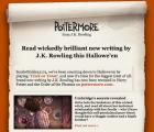 Para celebrar Halloween, J.K. Rowling reveló el origen de uno de sus personajes