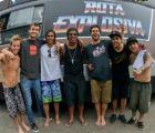 Video: El reto de Ronaldinho para medir su puntería en MTV Brasil