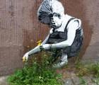 Arte urbano que convive con el ambiente