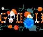 Little Jesus en el doodle de Google del Día de Muertos