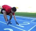 "Un japonés rompió la marca de correr en 4 ""patas"""