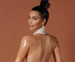 La famosa foto de Kim Kardashian para Paper... ¿sin Photoshop?