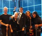 "Metallica arrancó su residencia en The Late Late Show con ""Hit the Lights"""