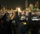 "Reacción de policía en marcha fue porque ""encapuchados tiran a matar"": SSP-DF"