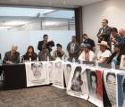 Piden padres de Ayotzinapa al Senado intervención de la ONU