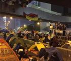 Líderes de Occupy Central anuncian su entrega y piden disolver el movimiento