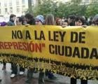 """Aprueban en España """"ley mordaza"""" contra manifestaciones"""
