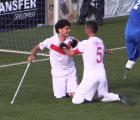 Video: Espectacular gol y festejo de un futbolista con discapacidad