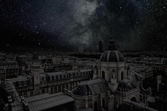 ¿Cómo se vería el cielo si apagaramos las luces?