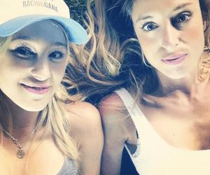 selfie hijas racing