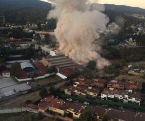 Reportan ya 7 muertos en explosión de Hospital Infantil de #Cuajimalpa