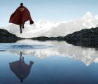 Los superhéroes también disfrutan la naturaleza