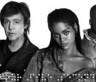 """¡Más Rihanna, Kanye y McCartney para todos! Detrás de las cámaras de """"FourFiveSeconds"""""""