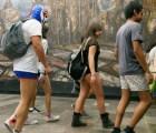 Participa este domingo en el flashmob sin pantalones en el metro del DF