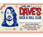 Concierto sorpresa de Foo Fighters por el cumpleaños de Dave Grohl... en L.A.