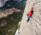 Escalan monolito de 900 metros en estilo libre