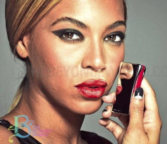 Beyoncé sin photoshop