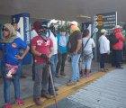 Por pago de salarios, magisterio bloquea Aeropuerto de Acapulco