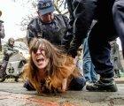 FEMEN ataca a Strauss-Kahn acusado de orgías y prostitución