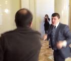 Diputados ucranianos resuelven diferencias a golpes