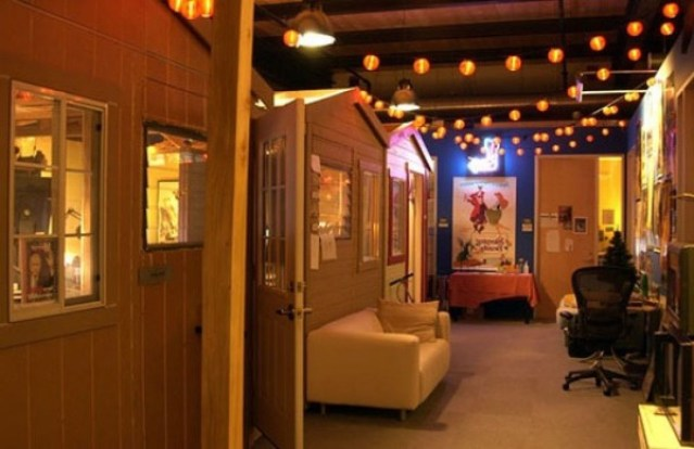 Estudios pixar las oficinas en las que todos for Oficinas pixar