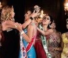 Como no ganó, le arrancó la corona a Miss Amazonas