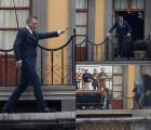 "Así lució James Bond el día de hoy en el rodaje de ""Spectre"""
