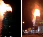 Se quema Novodévichi, patrimonio ruso de la humanidad