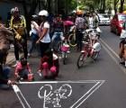 Galería: Rodada en el Zócalo, exigen #NoMasCiclistasMuertos