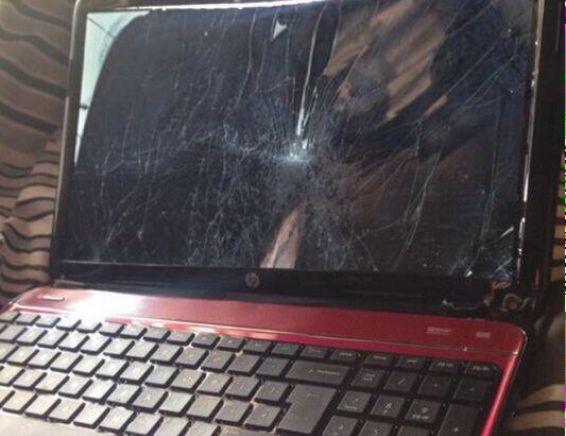 Destruye su laptop para no ser atrapado viendo porno