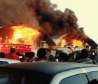 Identifican causa del incendio de la Central de Abasto