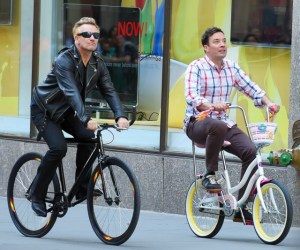 BuzzFoto Celebrity Sightings In New York - May 03, 2015