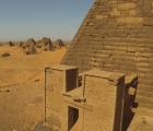 Así se ven las pirámides de El-Kurru con un dron