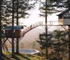 Foster Huntington y su increíble casa del árbol